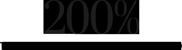 200 Percent Mag